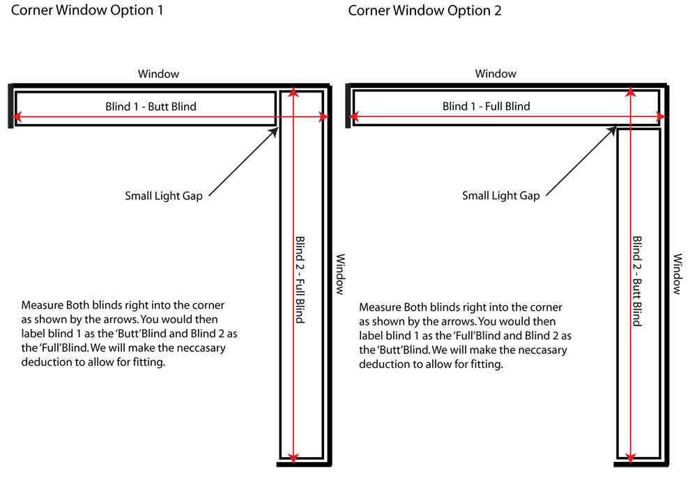 CORNER WINDOWS